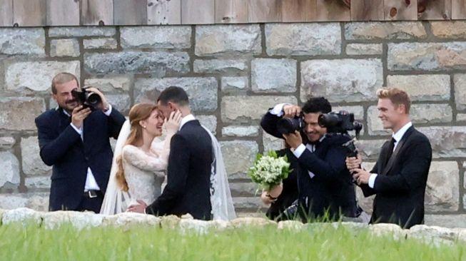 Pernikahan putri Bill Gates dan Nayel Nassar. [newyorkpost]